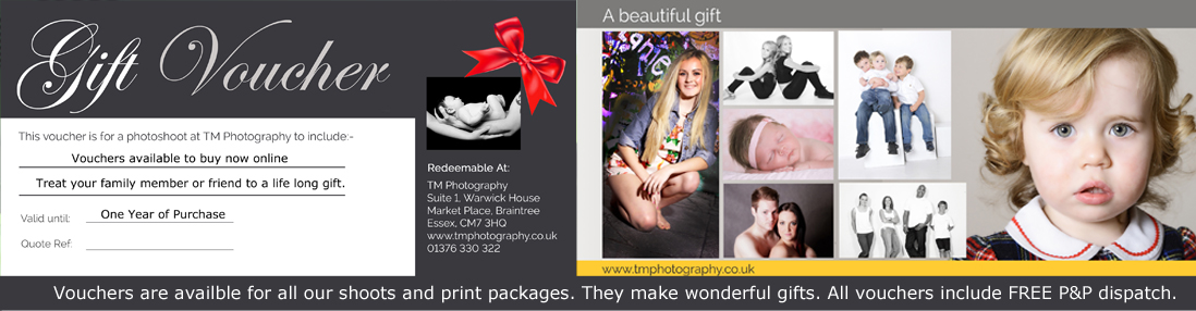 Essex Photography Studio Gift Voucher